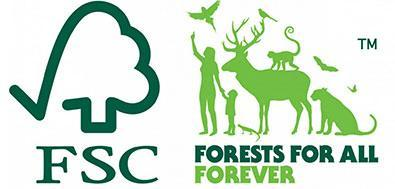 logo fsc - forests for all forever
