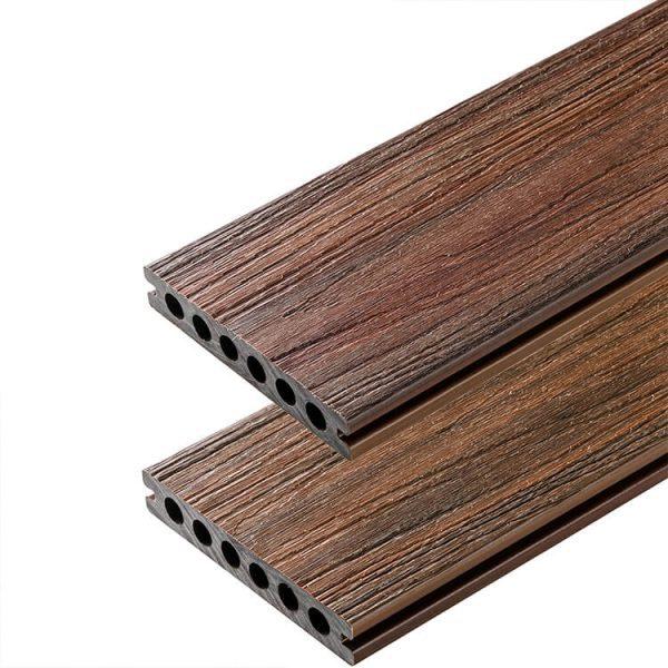 Deska kompozytowa tarasowa Premium Readwood2 600x600 - Deska Tarasowa Kompozytowa Premium Redwood - dł. 3,5m