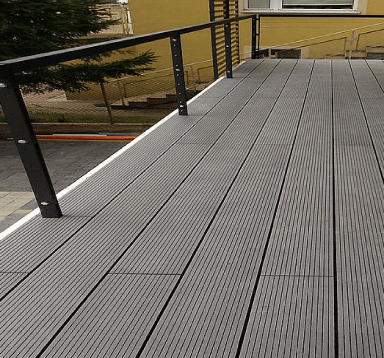 Balkon z deski Antracyt Standard