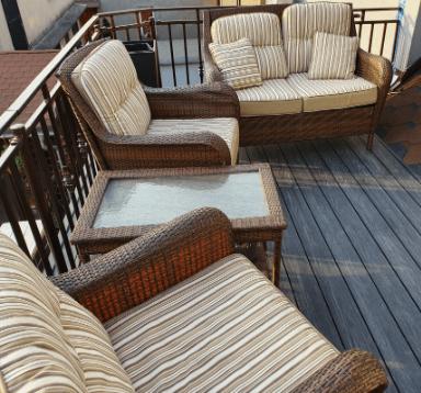 Balkon deska kompozytowa antracyt EcoTravers PREMIUM