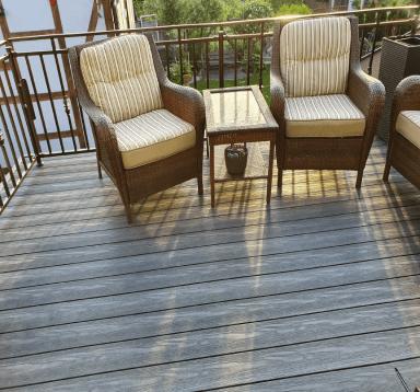 Balkon z deski kompozytowej EcoTravers Premium Antracyt