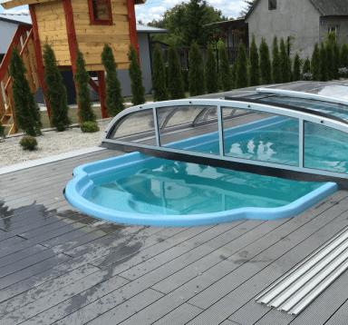 Obudowa basenu- deska Standard Jasny Szary