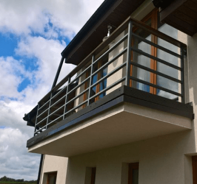 Balkon Standard antracyt