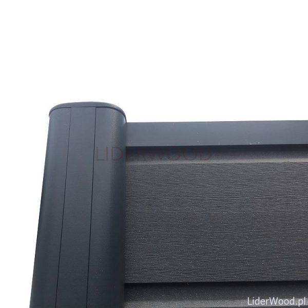 deska kompozytowa3 3 600x600 - Deska Ogrodzeniowa Antracyt - dł. 1,8m