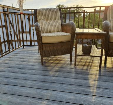 Balkon deska EcoTravers Premium kolor antracyt