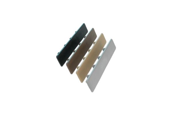 zaślepki deski ryflowane 25mm