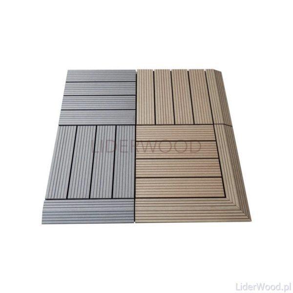 deska kompozytowa2 14 600x600 - Podest Tarasowy Kompozytowy Miodowy 30 x 30 x 2,5cm