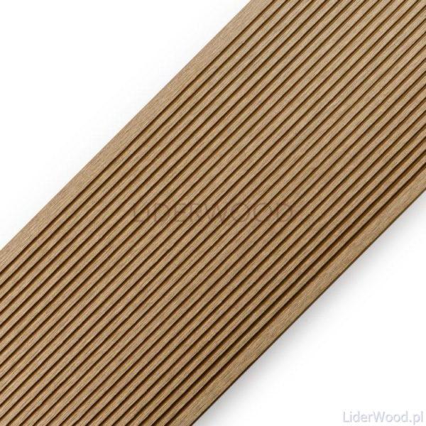 deska kompozytowa2 3 600x600 - Deska Tarasowa Kompozytowa Standard Teak - dł. 3,5m