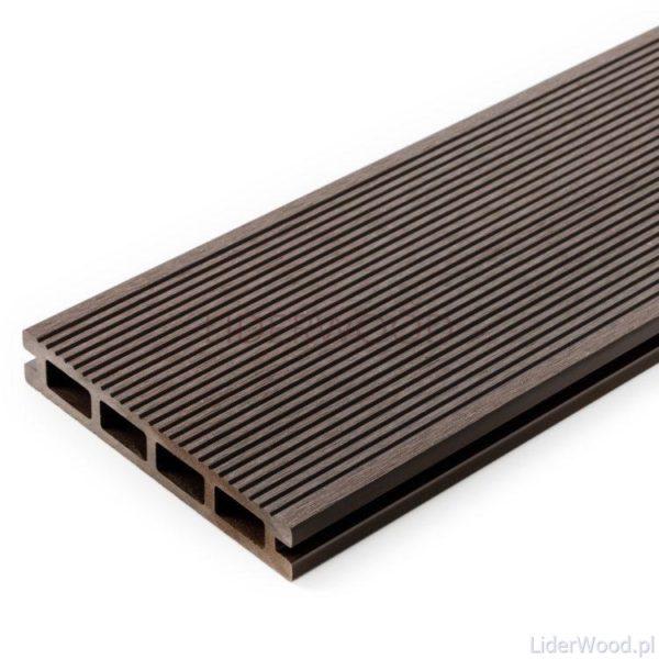 deska kompozytowa3 2 600x600 - Deska Tarasowa Kompozytowa Standard Ciemny Brąz - dł. 3,5m