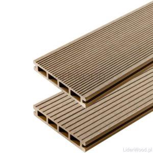deska kompozytowa3 3 300x300 - Deska kompozytowa standard  Miodowy Teak - dł. 2,40m