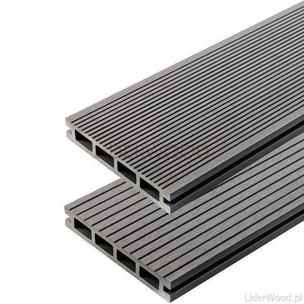 deska kompozytowa5 1 600x600 - Deska Tarasowa Kompozytowa Standard Jasny Szary - dł. 2,4m