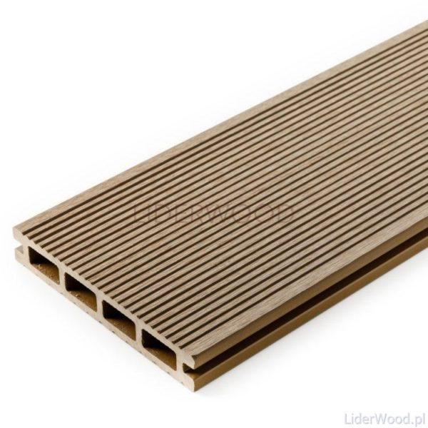 deska kompozytowa6 3 600x600 - Deska Tarasowa Kompozytowa Standard Teak - dł. 3,5m