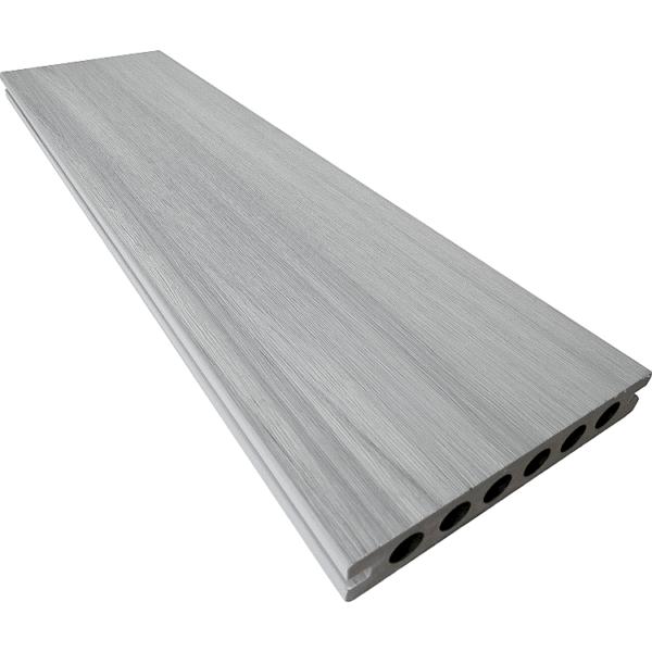 deska tarasowa kompozytowa premium jednokolorowa gładka