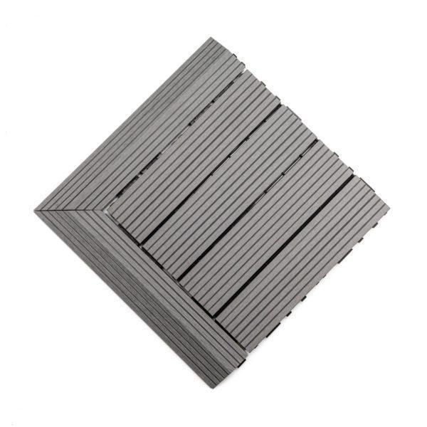 podest tarasowy kompozytowy jasny szary + panele narożne 2