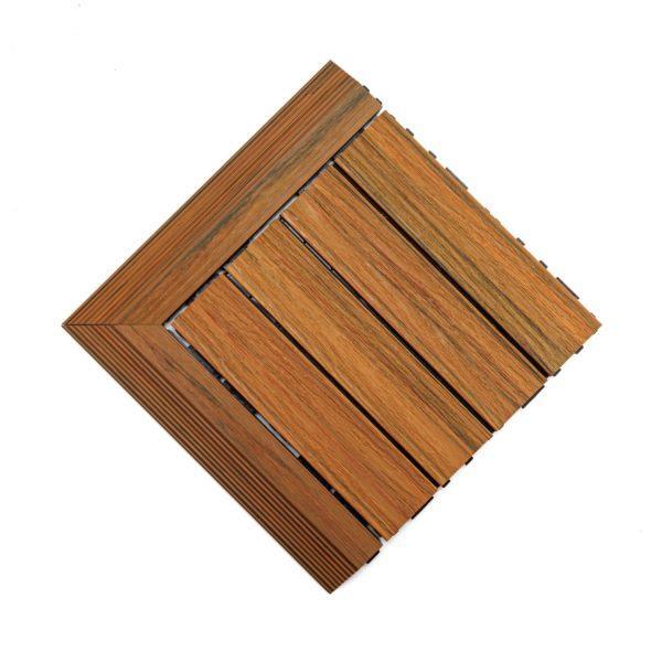 podest tarasowy kompozytowy premium złoty dąb + panele narożne