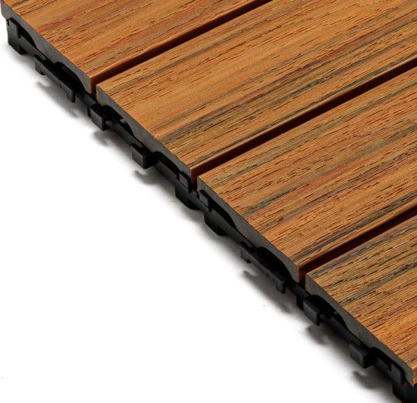 panel kompozytowy tarasowy premium złoty dąb