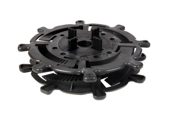 wspornik tarasowy pod plyty dysk fugowy 17 30 600x400 - Wspornik Tarasowy Regulowany Spiralny Pod Płyty DD Group 17-30mm