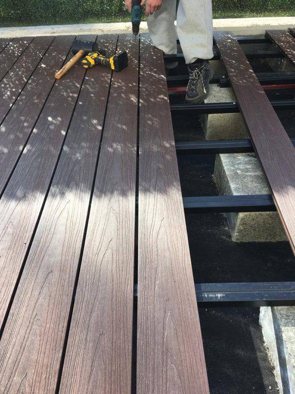 23 1 600x800 - Deska Tarasowa Kompozytowa Premium Redwood - dł. 3m