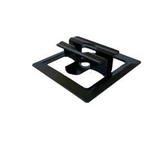 2 mini 300x300 - Klips ze stali nierdzewnej U11 do deski Standard + wkręt - 50 szt. (CZARNY)