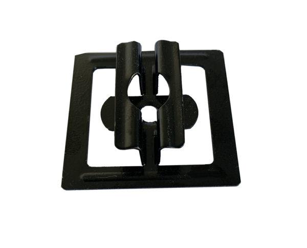 3 mini 600x485 - Klips ze stali nierdzewnej U11 + wkręt - 50 szt. (CZARNY)