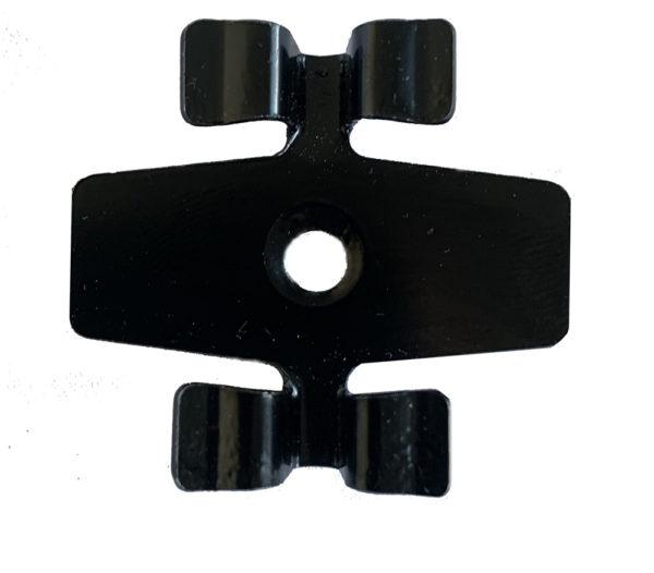 4 mini 600x526 - Klips ze stali nierdzewnej L-7 + wkręt - 50 szt. (CZARNY)