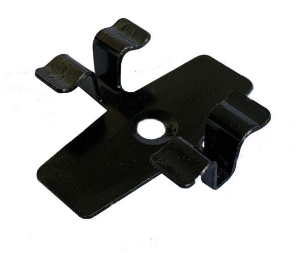 5 mini 600x502 - Klips ze stali nierdzewnej L-7 + wkręt - 50 szt. (CZARNY)