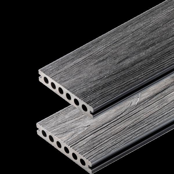 deska premium antracyt grey 600x600 - Deska Tarasowa Kompozytowa Premium Antracyt - dł. 3m