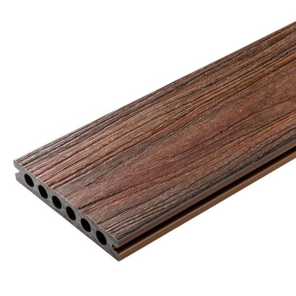 redwood oryginał 600x600 - Deska Tarasowa Kompozytowa Premium Redwood - dł. 4m