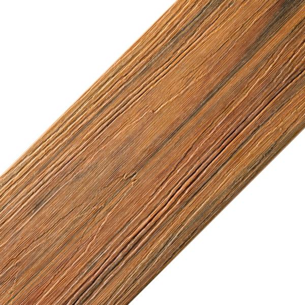 słoneczny teak kolor oryginał 600x600 - Deska Tarasowa Kompozytowa Premium Amber - dł. 3,5m