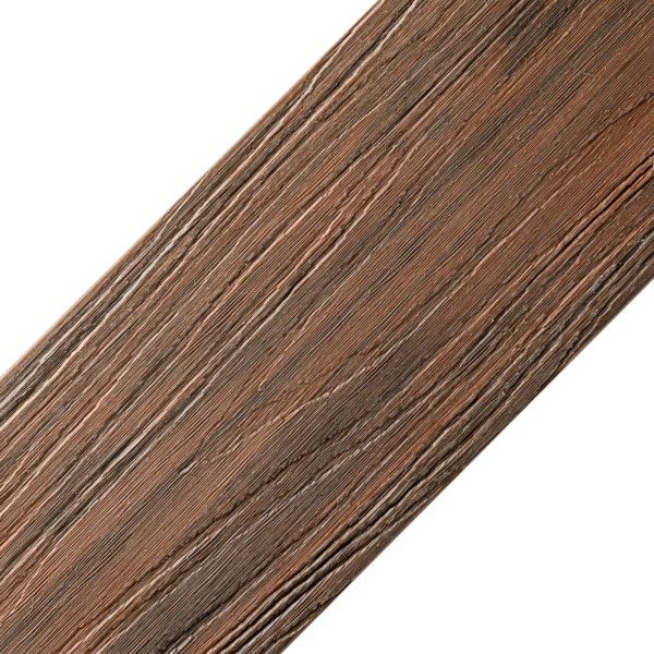 złoty dąb kolor oryginał 600x600 - Deska Tarasowa Kompozytowa Premium Redwood - dł. 4m