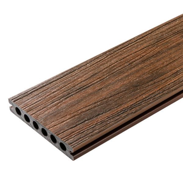 złoty dąb oryginał 600x600 - Deska Tarasowa Kompozytowa Premium Redwood - dł. 4m