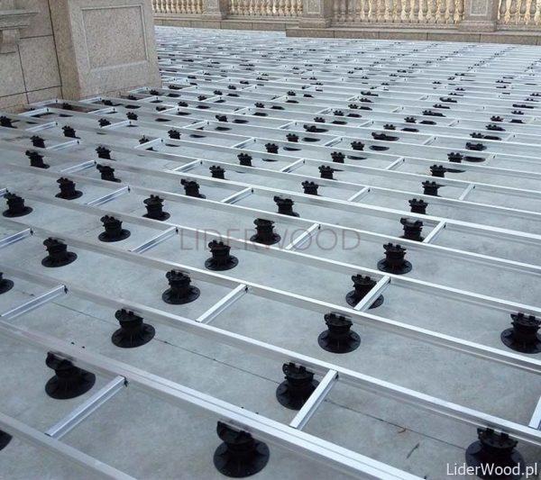 deska kompozytowalegary aluminiowe wsporniki 31 600x533 - Legar Aluminiowy 40x30 - dł. 4m