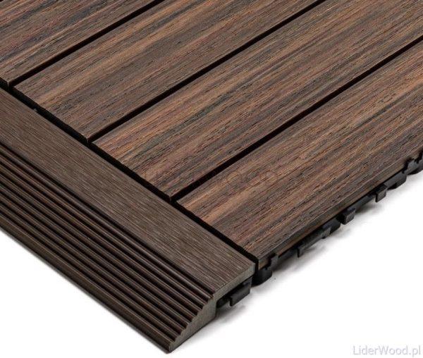 deska kompozytowa1 6 600x508 - Podest Tarasowy Kompozytowy Premium Boczny Redwood
