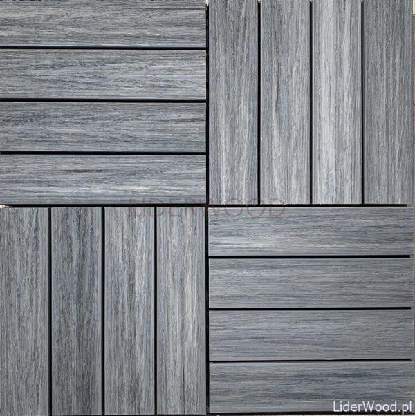 deska kompozytowa2 4 600x602 - Podest Tarasowy Kompozytowy Premium Grey 30 x 30 x 2,5cm