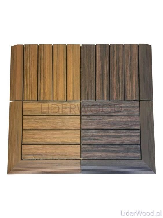 deska kompozytowa3 5 - Podest Tarasowy Kompozytowy Premium Narożny Prawy Redwood