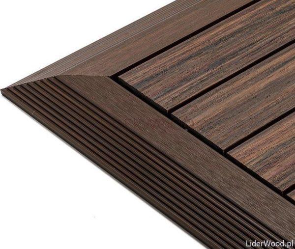 deska kompozytowa3 6 600x507 - Podest Tarasowy Kompozytowy Premium Narożny Prawy Redwood