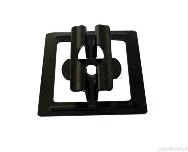 deska kompozytowa3 mini1 600x485 - Klips ze stali nierdzewnej U11 do deski Standard + wkręt - 50 szt. (CZARNY)