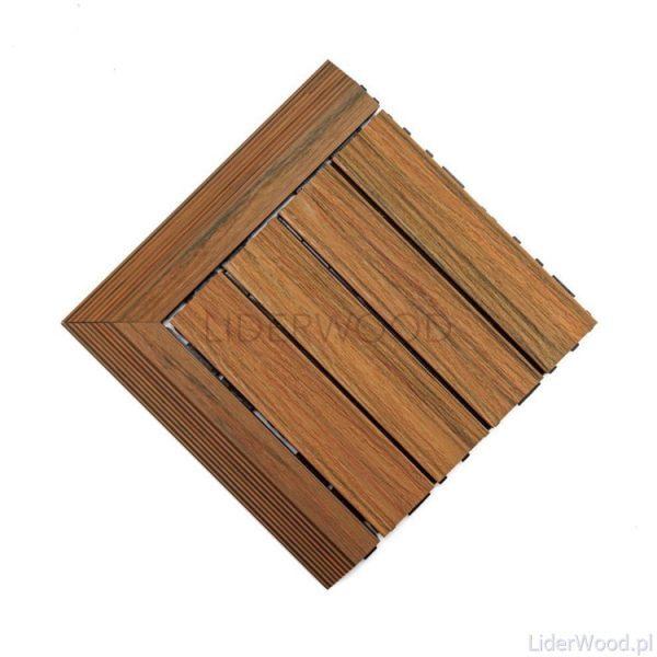 deska kompozytowa4 4 600x600 - Podest Tarasowy Kompozytowy Premium Narożny Lewy Amber