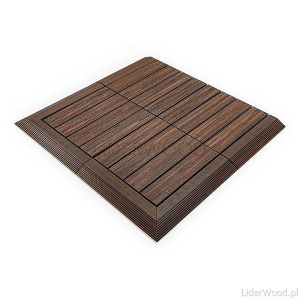 deska kompozytowa4 5 600x599 - Podest Tarasowy Kompozytowy Premium Narożny Prawy Redwood