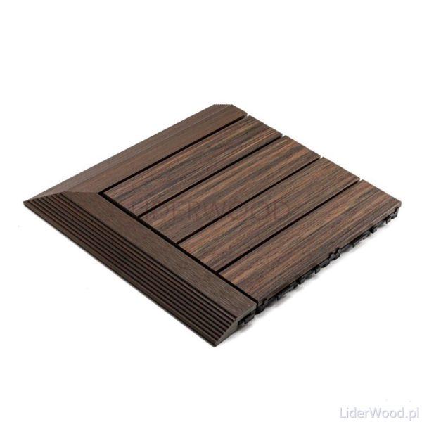 deska kompozytowa6 4 600x600 - Podest Tarasowy Kompozytowy Premium Narożny Prawy Redwood