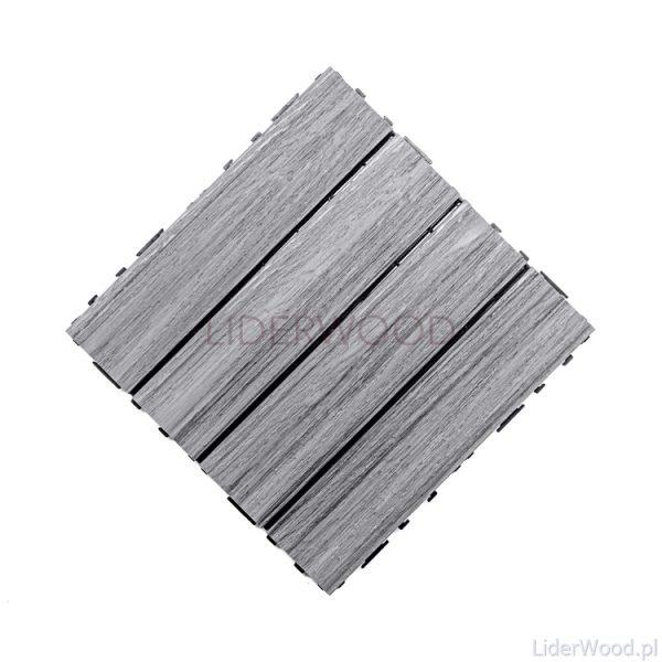deska kompozytowa7 600x600 - Podest Tarasowy Kompozytowy Premium Grey 30 x 30 x 2,5cm