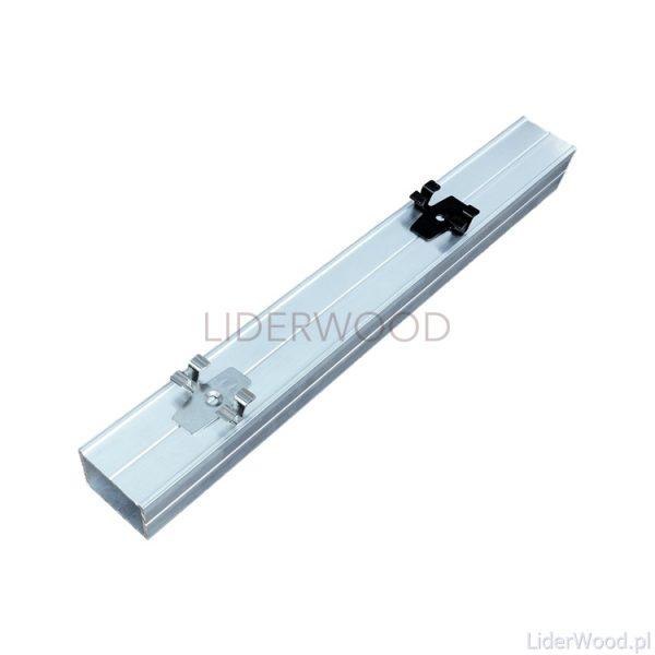 deska kompozytowaLegar Aluminiowy 40x30. klips L7x2 jpg1 600x600 - Klips montażowy ze stali nierdzewnej do deski 3D + wkręt - 50 szt.