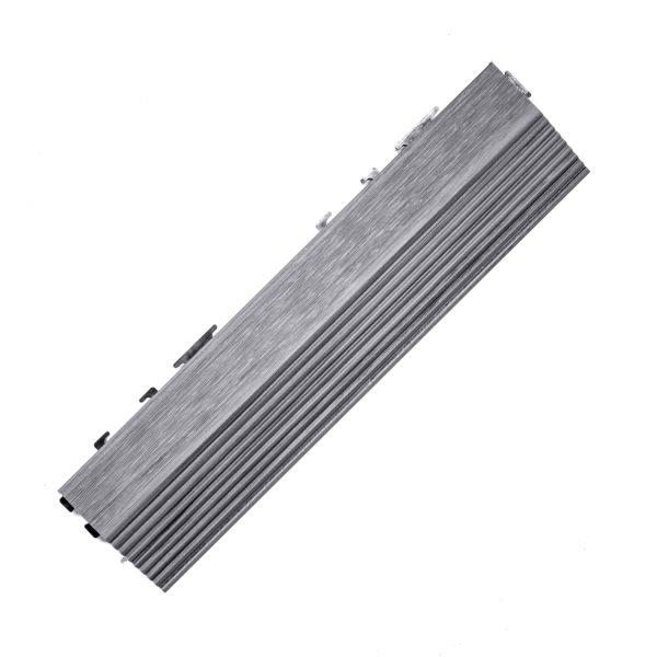 wyk boczne podest środk premium szary1 600x600 - Podest Tarasowy Kompozytowy Premium Boczny Gray