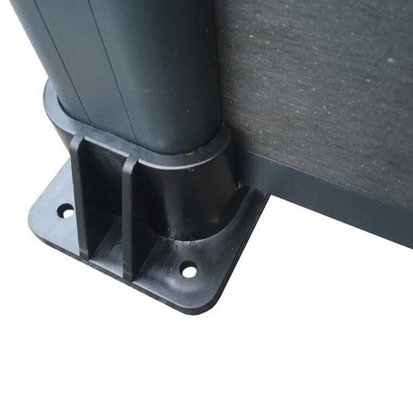 ogrodzenie kompozytowe ogrodzenia z deski kompozytowej2 600x600 - Słupek Ogrodzeniowy Aluminiowy