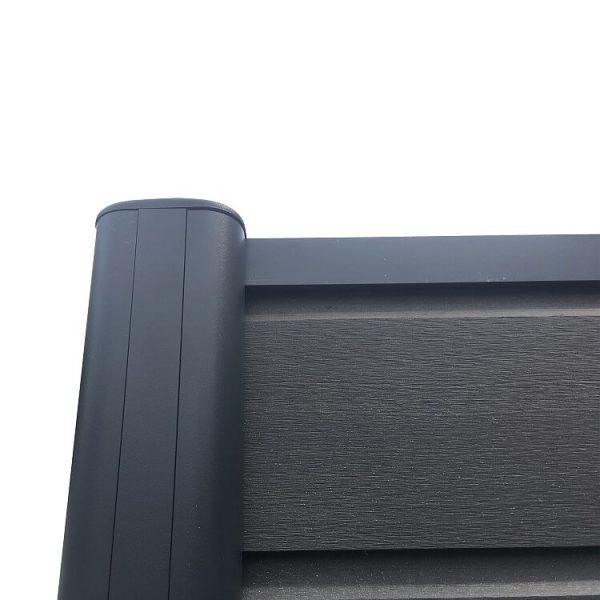 ogrodzenie kompozytowe ogrodzenia z deski kompozytowej4 600x600 - Słupek Ogrodzeniowy Aluminiowy
