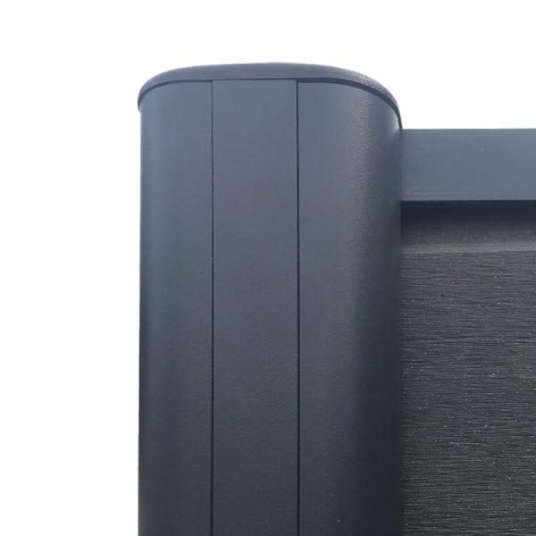 ogrodzenie kompozytowe ogrodzenia z deski kompozytowej8 600x600 - Słupek Ogrodzeniowy Aluminiowy