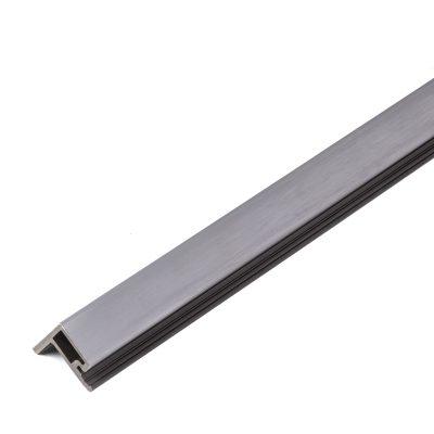 Listwa kompozytowa zakończeniowa lamelowa premium gray 2,9m