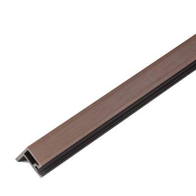 Listwa kompozytowa zakończeniowa lamelowa premium redwood 2,9m
